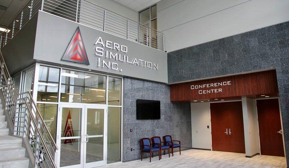 Aero Simulation Office Building