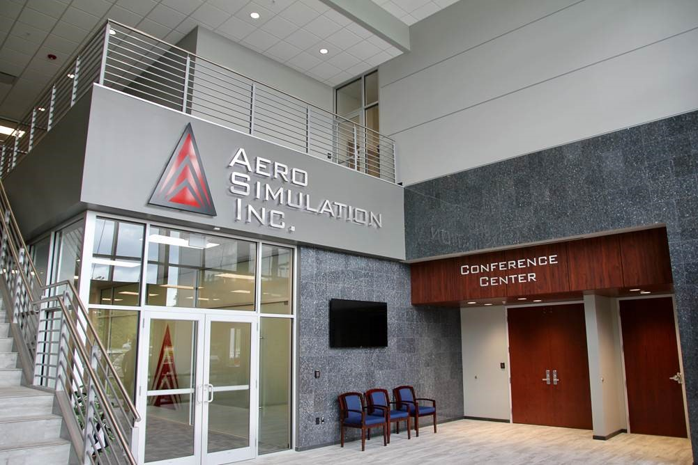 Aero Simulation Office Building
