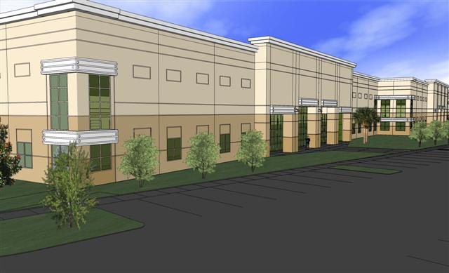 Hhc architects design three industrial buildings for idi for Leed building design